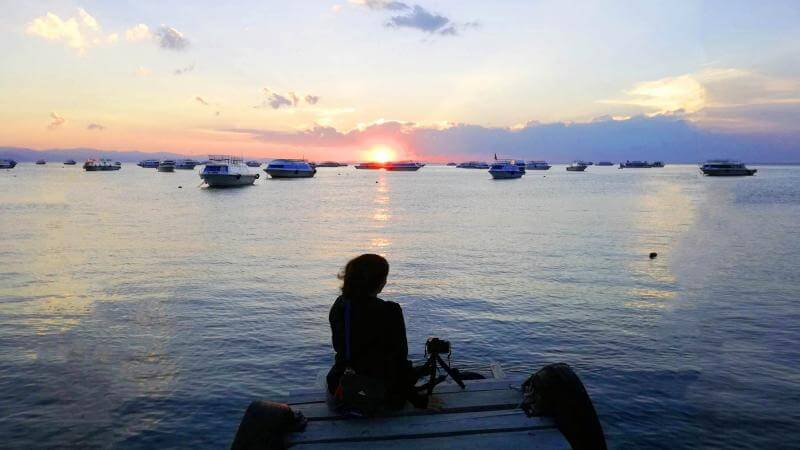The best places to take picture of sunsets in Copacabana