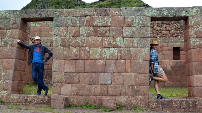 Inca's ruins in Sacred Valley – the small & the big